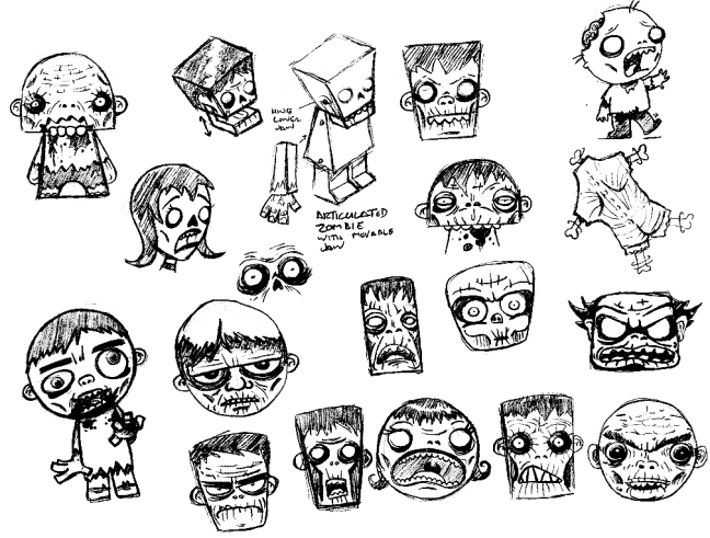 zombie sketches1